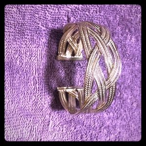 Jewelry - Beautiful handmade sterling silver cuff bracelet